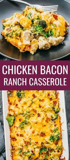 [ Click the pin to find the recipe nutrition facts cooking tips & more photos for Chicken Bacon Ranch Casserole! The post Click the pin to find the recipe nutrition facts cooking tips & more photos f appeared first on Keto Recipes. Low Carb Recipes, Diet Recipes, Healthy Recipes, Party Recipes, Recipes Dinner, Recipes With Bacon, Carb Free Meals, Healthy Meals, Dessert Recipes