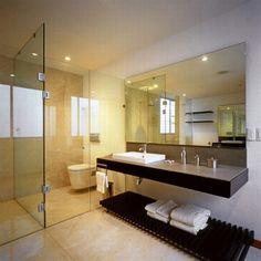 Modern House Design in Guadalajara, Mexico - Interior - Bedroom designs room design design home design Modern Small Bathrooms, Modern Bathroom Design, Bathroom Interior Design, Modern House Design, Bathroom Designs, Interior Decorating, Decorating Ideas, House Design Photos, Cool House Designs