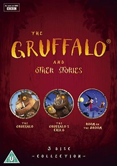 The Gruffalo and Other Stories The Gruffalo/The Gruffalo's Child/Room On The Broom DVD: Amazon.co.uk: Max Lang, Jakob Schuh, Uwe Heidschötter, Johannes Weiland, Jan Lachauer, Martin Pope, Michael Rose: DVD & Blu-ray