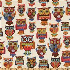 Owl Owls Cream  Item Number: DO-594
