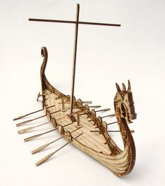 28mm Viking Longship – TRE Games