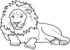Zoo-Animals Kids Coloring Pages with Free Colouring Pictures to Print
