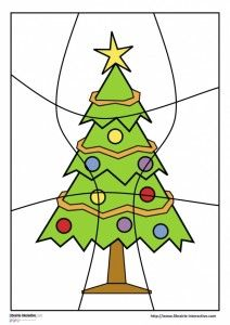 puzzles noel 9 pieces2 Preschool Christmas Crafts, Christmas Activities For Kids, Christmas Tree Crafts, Kindergarten Crafts, Winter Crafts For Kids, Christmas Printables, Christmas And New Year, Kids Christmas, Christmas 2019