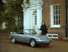 1966 Lotus Elan DHC [Type driven by Mrs. Emma Peel on The Avengers. Avengers Girl, New Avengers, Dame Diana Rigg, Uk Tv Shows, Lotus Elan, Avengers Images, Lotus F1, Emma Peel, Gt Cars