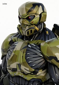 ArtStation - Nanosuit 2 multiplayer character model, Dima Gait - Jeena F. Suit Of Armor, Body Armor, Armor Concept, Concept Art, Character Concept, Character Design, Futuristic Helmet, Combat Armor, Space Fantasy