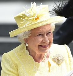 HER MAJESTY TODAY!!!  Her Majesty leaves after a National Service of Thanksgiving as part of the 90th birthday celebrations for The Queen at St Paul's Cathedral on June 10, 2016 in London