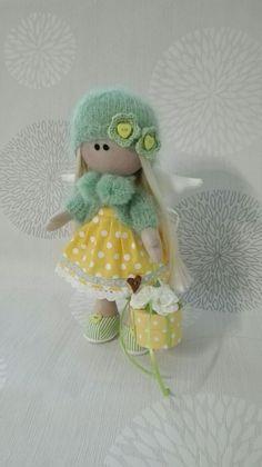 Wunderschöner Engel nach Tilda Art * Landhaus * Puppe * Ostern in Möbel & Wohnen, Dekoration, Dekofiguren | eBay!