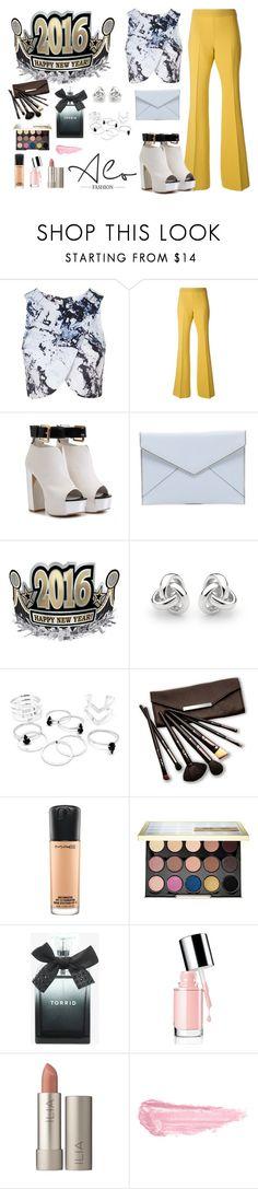 """ootd new year 2016"" by alofashionn on Polyvore featuring moda, Topshop, Giambattista Valli, Rebecca Minkoff, Alo, Georgini, Borghese, MAC Cosmetics, Urban Decay y Torrid"