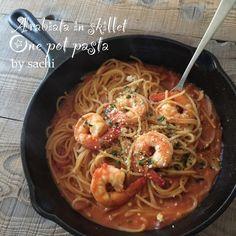時間がない日にオススメ!フライパン1つで簡単「ワンポットパスタ」レシピ - LOCARI(ロカリ) Pasta Recipes, Dinner Recipes, Cooking Recipes, Healthy Recipes, Dinner Ideas, Food And Drink, Ethnic Recipes, Kitchens, Chef Recipes