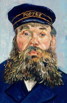 Vincent Van Gogh, Postman Joseph Roulin, 1888   Museum of Fine Arts, Boston