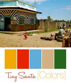 Kenya & Safari Inspired Nursery Color Palette  #katequinnnursery