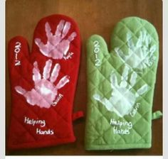 Oven mitt gift for Mothers Day