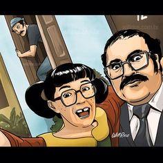 Uma Barriga com senhor selfie! 😁😁 estamos de volta com el Chavo!! #chaves #WillRios #chespirito #instadraw #draw #chavo #elchavo #DesenhosCH #illustration #digitalpainting #mariaAntonieta #chilindrina #chiquinha #seumadruga #madruga #ramon #donRamon #elChavoDelOcho #barriga #senorbarriga #edgarvivar