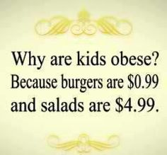 why kids are obese?