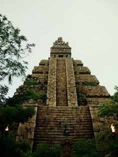 Climb to the top of an Aztec Temple and then have my picture taken on the sacrificial stone!