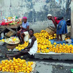 The market in Haiti