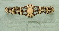 Bracelet of the Day: Isabelle - Ivory & Chocolate