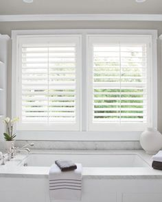 5 Exceptional Simple Ideas: White Blinds And Curtains blinds window spaces.Blinds For Windows Grey Walls bedroom blinds bathroom.Roll Up Shades Roller Blinds. White Wooden Blinds, White Blinds, White Shutters, Interior Shutters, Wood Shutters, Interior Windows, Kitchen Shutters, White Shutter Blinds, White Kitchen Blinds