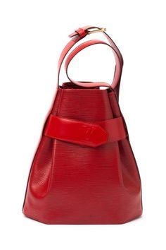 Vintage Leather D'epaule Sac by Vintage Louis Vuitton