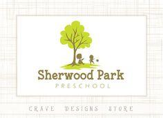 Premade Kids Logo Designs Children Logo by CraveDesignsStore