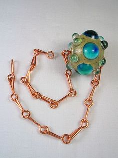 Tut For Handmade A Simple Chain - Lampwork Etc.