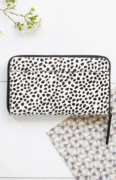 Status Anxiety Delilah Wallet Snow Cheetah | Beginning Boutique