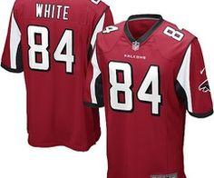 NFL Jerseys Canada Roddy White Nike Jersey Red #84   http://www.cheapnfljerseyca.com/