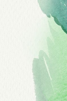 Download free vector of Green watercolor on a beige background vector