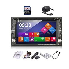 Car Autoradio 2din GPS SAT Navigation TouchScreen Car DVD Player In-dash Car Audio Car Stero AM/FM Radio Bluetooth Map iPod Backup Camera. For product info go to:  https://www.caraccessoriesonlinemarket.com/car-autoradio-2din-gps-sat-navigation-touchscreen-car-dvd-player-in-dash-car-audio-car-stero-amfm-radio-bluetooth-map-ipod-backup-camera/