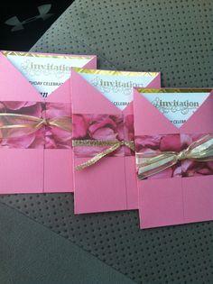 Handmade birthday invitations tarjeteria pinterest birthdays handmade 50th birthday invitation filmwisefo