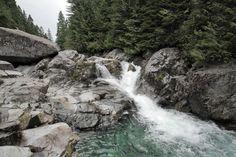 Widgeon Falls in Pinecone Burke Provincial Park - Vancouver, Canada.