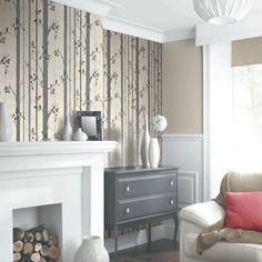 Arthouse Birch Tree Wallpaper - Black - http://godecorating.co.uk/arthouse-birch-tree-wallpaper-black/
