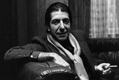 El cantante Leonard Cohen en una fotografía de 1980