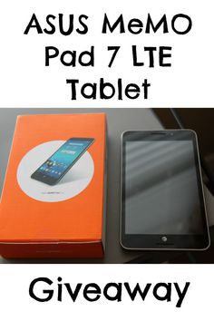 ASUS MeMO Pad 7 LTE - Great Tablet for Back-to-School + Giveaway  #Ad #Giveaway
