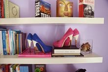 Using these beautiful heels as interior design #pumps #shoes #fashion