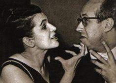 Galina Pavlovna Vishnevskaya and Mstislav Leopoldovich Rostropovich So sad they're both gone now. :(