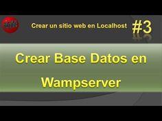 Crear Base de Datos en wampserver. Base de datos MySql. Vídeo #3