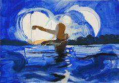 "Saatchi Art Artist Grażyna Smalej; Painting, ""Under the Sun"" #art"