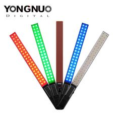 SKT Oman New Product.  Yongnuo YN360 LED Light Wand.  Yongnuo have announced the new YN360 LED Light Wand which they are describing as an industry first LED video light made from full color RGB SMD lamps as well as LED lamp beads.  The YN360 has. 40 full color RGB SMD lamps. 160 LED lamp beads 3200k color temp. 160 LED lamp beads 5500k color temp.  In full color RGB mode it can produce rich colors of Red Green & Blue.  The colors are controllable through the mobile app or manually using the…