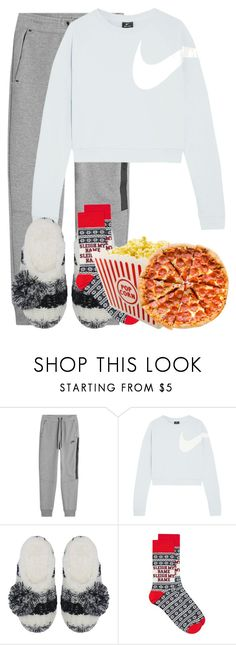 """""""New Years: All Alone"""" by madisoncorell on Polyvore featuring NIKE, Totes and Topman"""