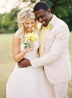 Yellow Rose of Texas from Southern Weddings