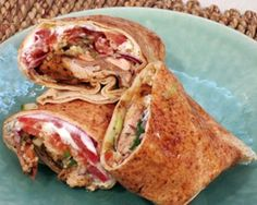Lebanese-style chicken wrap with bulgur wheat: Recipes: Good Food Channel