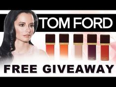 Win a FREE Tom Ford Nail Polish Set (16 Colors) from Dr. Lisa Airan!    WIN IT! One Dr. Lisa Airan follower will win the Tom Ford Nail Polish Set    HOW TO ENTER: Visit www.tomford.com and www.drlisaairan.com and leave a comment on this video telling us what you love about the Tom Ford Nail Colors. Contest ends February 25th 12:00AM Eastern Time. Wi...