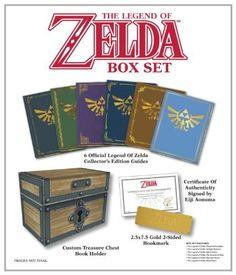 OK AutoRegalo de Navidad! The Legend of Zelda Box Set: Prima Official Game Guide #zelda