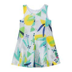 catimini - Toddler Girl Pop-Up Printed Dress - 1