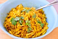 Five-Minute Indian-style Cabbage - A Tasty and Easy Side Dish