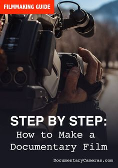Step by step, how to make a documentary film. Great for beginners and film students. Everything you need to do to make a short or feature length documentary film from pre-production to distribution. Fed Up Documentary, Grey Gardens Documentary, What The Health Documentary, Blackfish Documentary, Documentary Filmmaking, Photo Documentary, Documentary Photography, Spiritual Documentaries, Health Documentaries