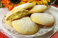 Biscotti Cookies, Brownie Cookies, Italian Cooking, Italian Recipes, Latte, Italian Biscuits, Pizza Recipes, Ham Recipes, Soul Food