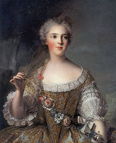 1748 Sophie de France by Jean-Marc Nattier