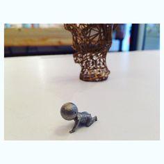 "Something we liked from Instagram! Stefan Krische macht #3D Druck. ""Becoming"" aus Stahl #3dprinting #3ds #3dprinter #3dprint #print #steel #baby #3dmodeling #design #3ddesign #makers #popupshop #temporary #designshop #vienna #designer by neubauwien check us out: http://bit.ly/1KyLetq"